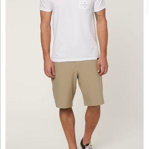 {NEW} O'Neill hybrid board shorts men's size 33